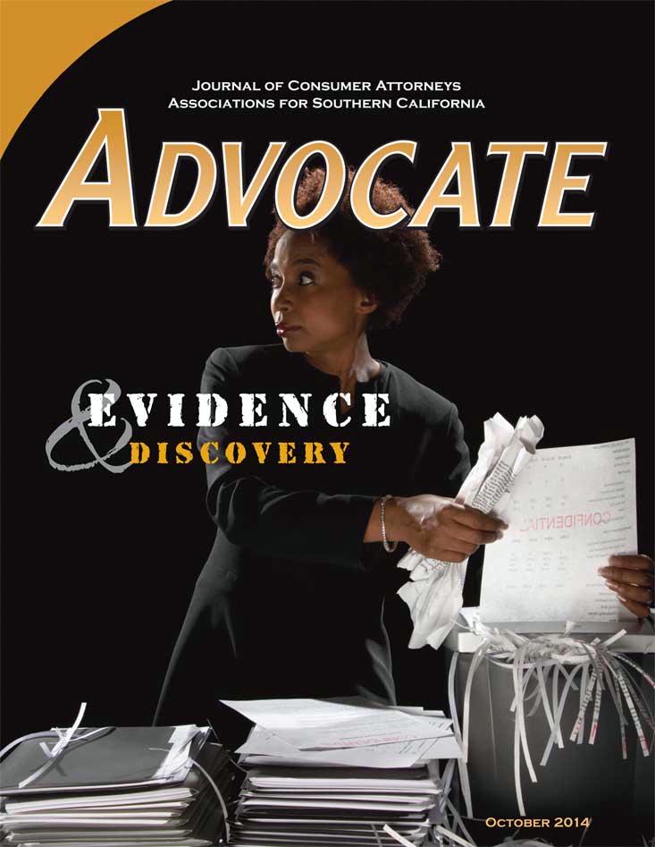 Advocate Cover October 2014