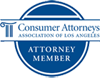 Consumer Attorneys Association of Los Angeles logo