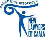 New Lawyers of CAALA logo