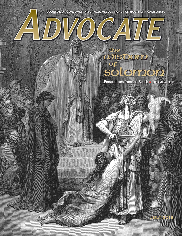 Advocate July 2018 Cover