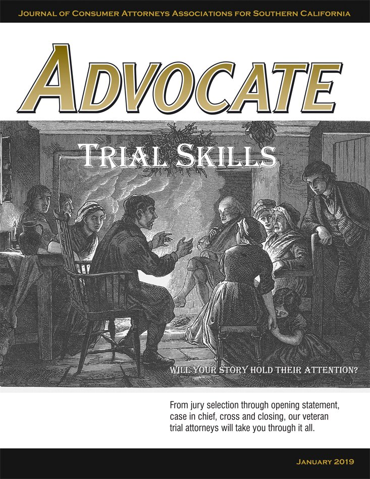 Advocate Cover January 2019