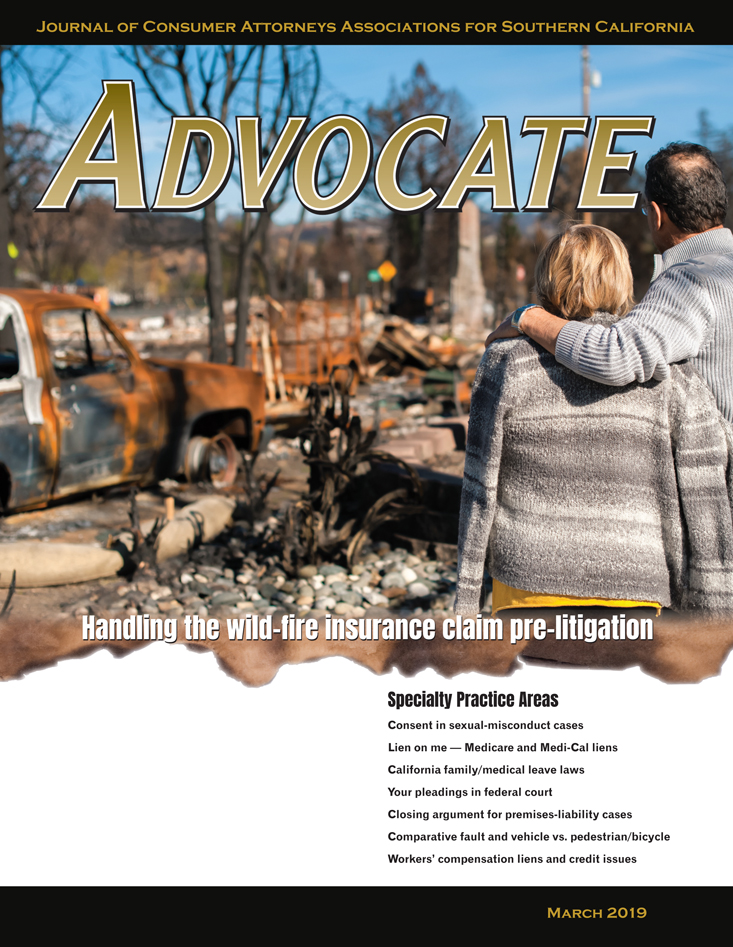 Advocate Cover March 2019