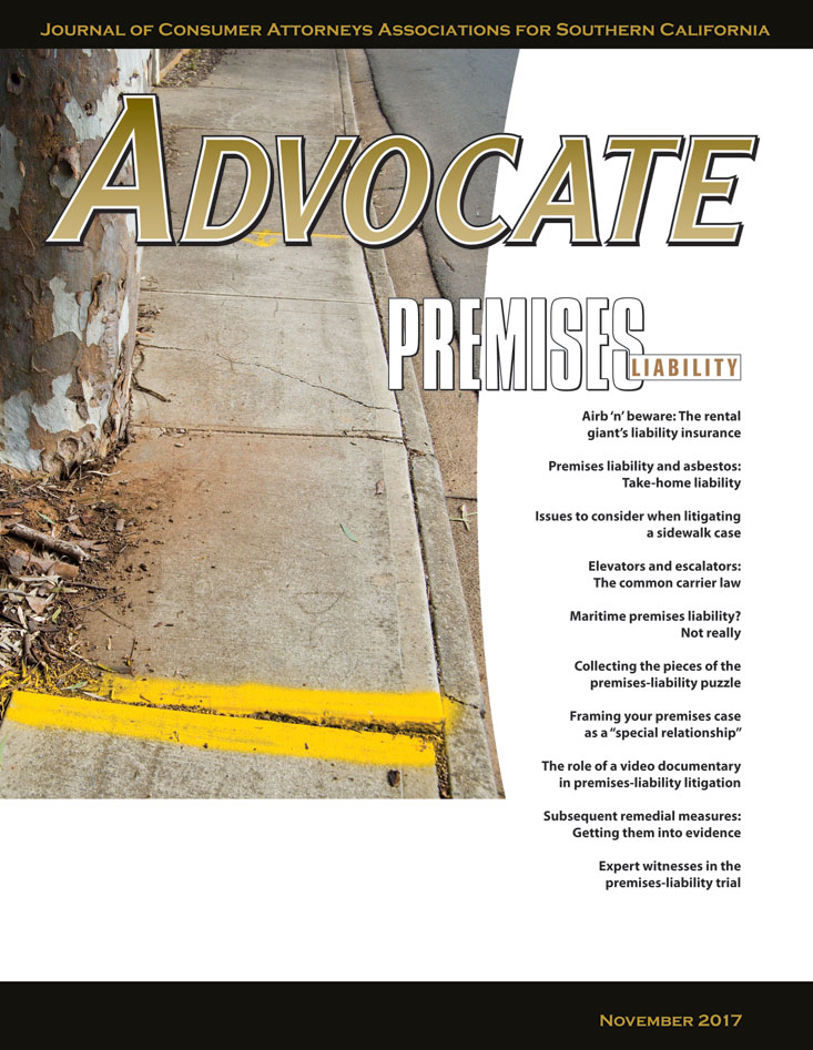 Advocate Nov 2017 Cover