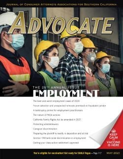 Advocate Cover December 2020